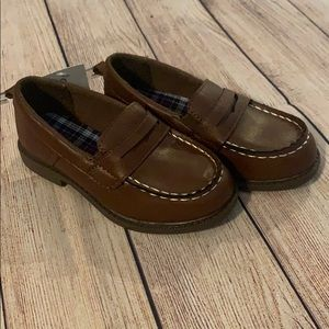 Carters Boys loafer dress shoes